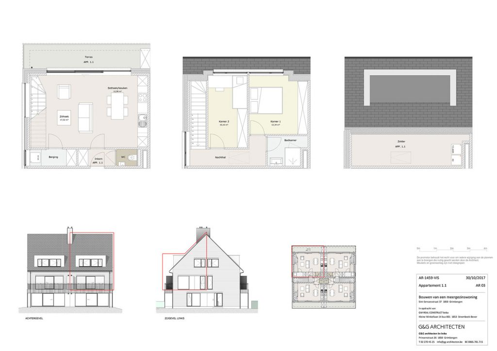 Plan Appartement 1.1