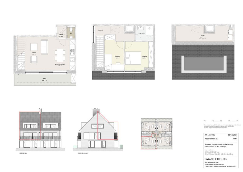 Plan Appartement 1.2