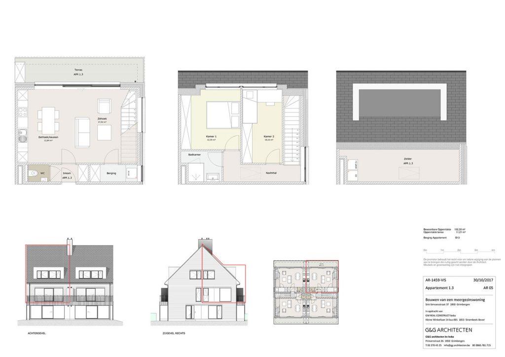 Plan Appartement 1.3