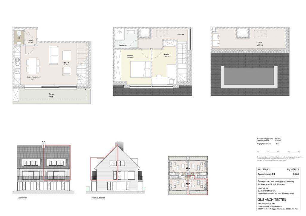 Plan Appartement 1.4